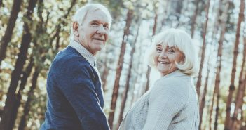 senior citizen couple image