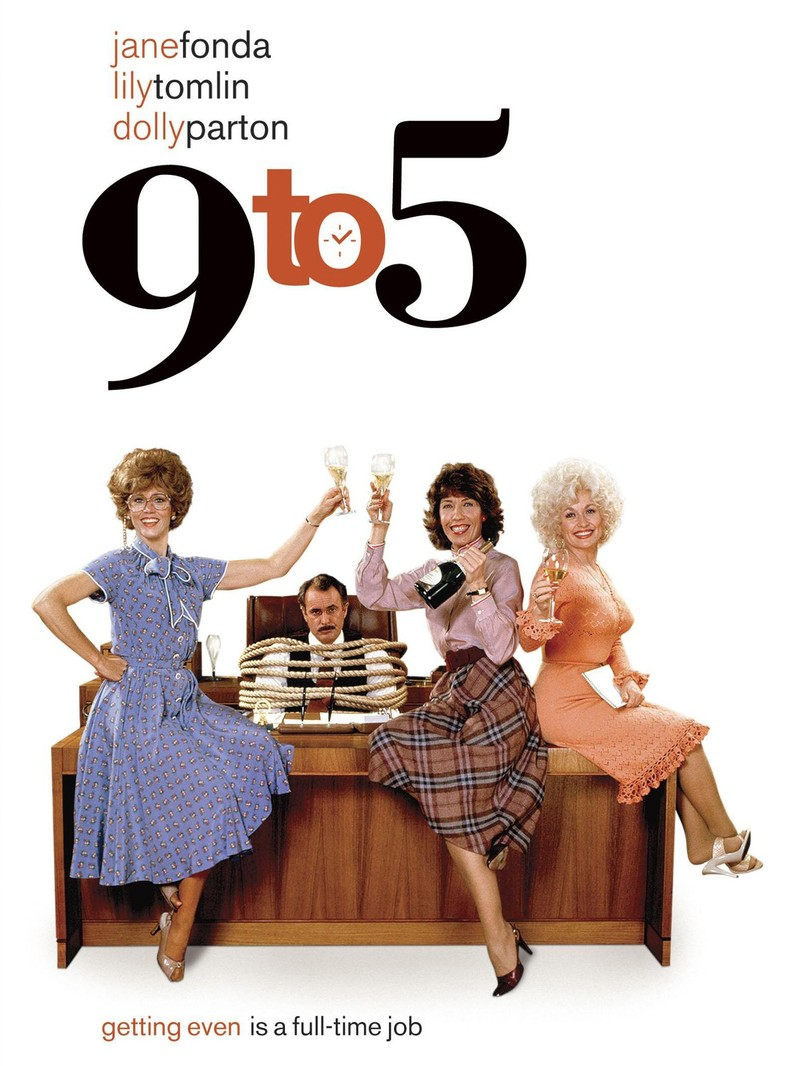 '9 to 5' Blu-ray with Jane Fonda, Dolly Parton, and Lily Tomlin