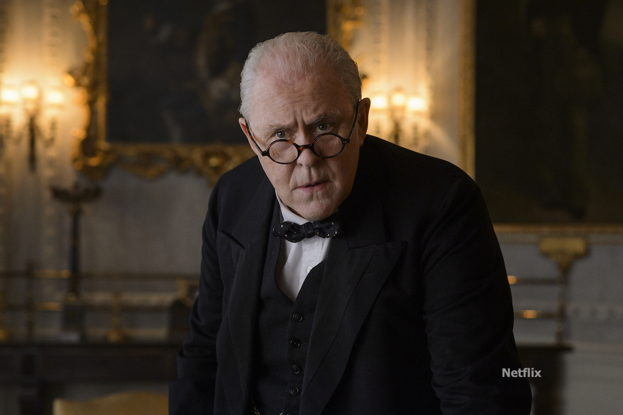 John Lithgow is Winston Churchill in Netflix's 'The Crown'
