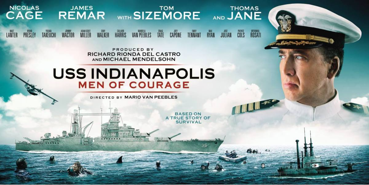 'USS Indianapolis: Men of Courage' on Blu-ray and DVD