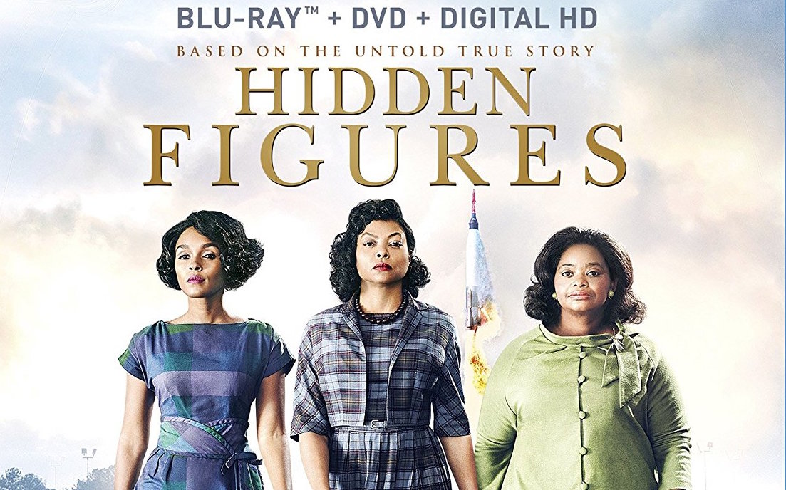 Hidden Figures on Blu-ray Combo Pack