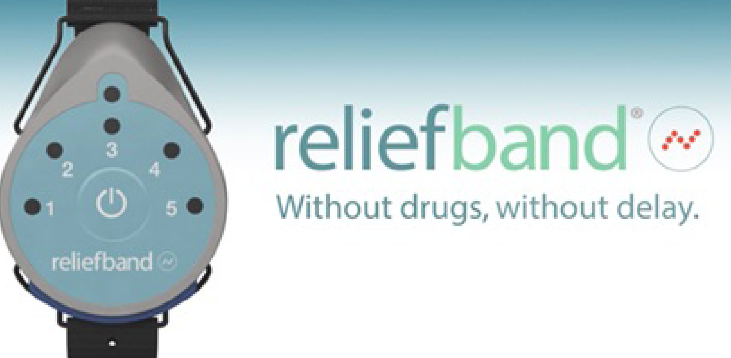 The Reliefband — drug-free way to stop nausea!
