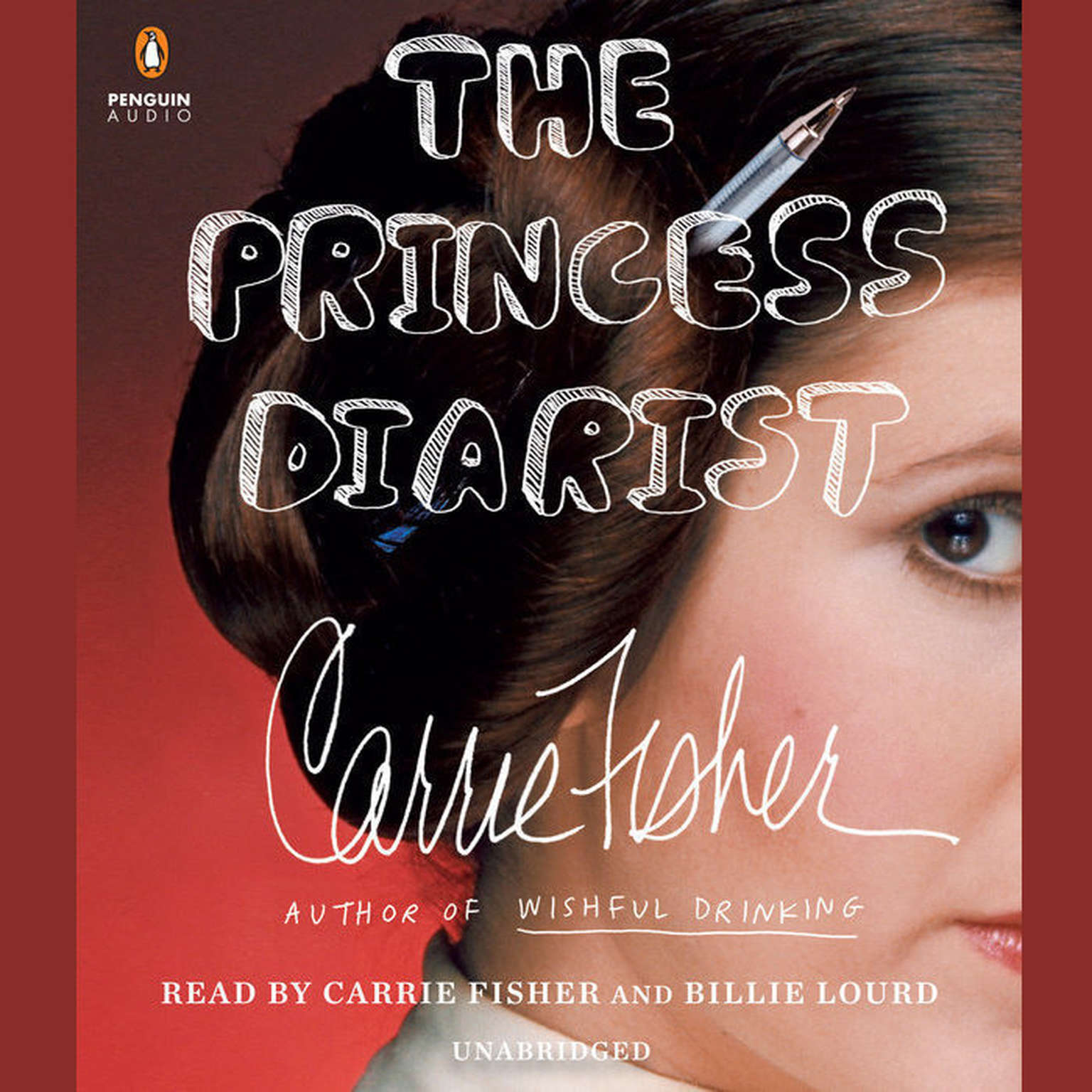 Carrie Fisher's 'The Princess Diarist' is now available as audiobook