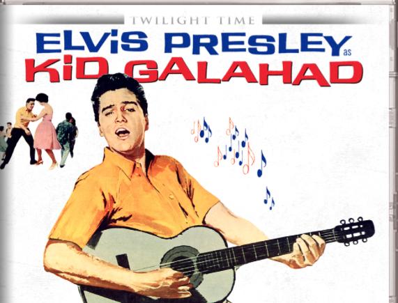 "Elvis Presley is 'Kid Galahad"""