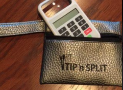 Calculator inserting to the wallet